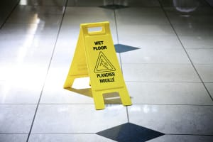 Wet Floor - injury lawyer for slip and fall cases kansas city